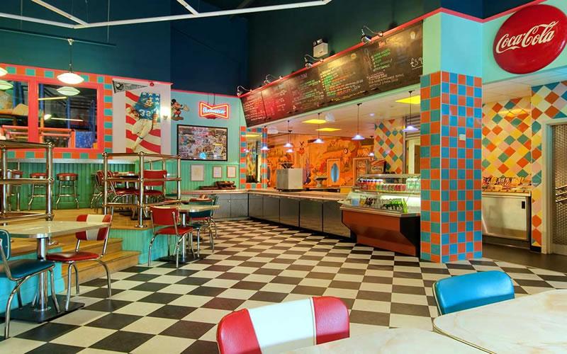 American Diner Coylumbridge Hotel Aviemore